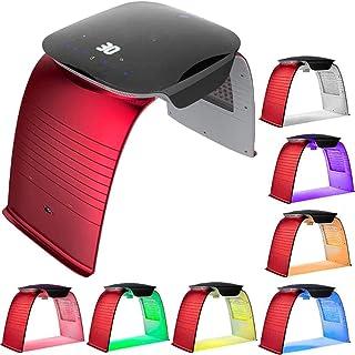 7 kleuren LED-foton-therapiemachine, lichtmasker Draagbaar foton-acnetherapie Rimpelverwijdering Anti-veroudering Huidverj...