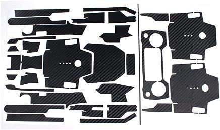 PGIGE Adesivi Impermeabili in Fibra di Carbonio DJI Mavic PRO Adesivi Telecomando Corpo Braccio Set Completo di Adesivi Accessori - Nero - Trova i prezzi più bassi