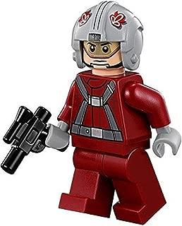LEGO Star Wars Minifigure T-16 Skyhopper Pilot Red with Blaster Gun (75081)