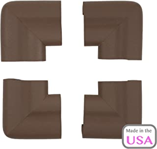 OOPSY Child Safety Jumbo Corner Guard 8 Piece, Brown