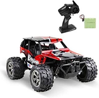 infinitoo Remote Control Car, High Speed Off-Road Vehicle 1:18, Auto 12km/h 2.4GHz, Electric Racing Car Toys, RC Buggy Veh...