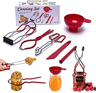 Canning Supplies Starter Kit, Home Canning Kit Tools Set...