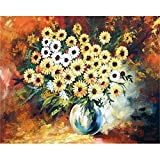 RTCKF Classic Simple Flower Oil Painting on Canvas Art Valentines Day Colgante Lienzo impresión Arte impresión Accesorios de decoración del hogar Sala de Estar decoración del hogar A1 30x40cm