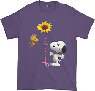 Breast Cancer Awareness Snoopy T-Shirt