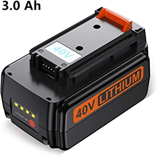 SURTOP 3.0Ah 40V Max Replacement Battery Compatible with Black & Decker 40V Max Cordless Tools LBXR36 LSWV36 LCS1240 LST136B LHT2436B LCS1240B LBX2040 LBXR20 Lithium Battery (1 Pack)