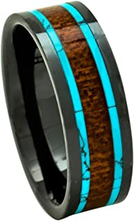 koa wood rings oahu