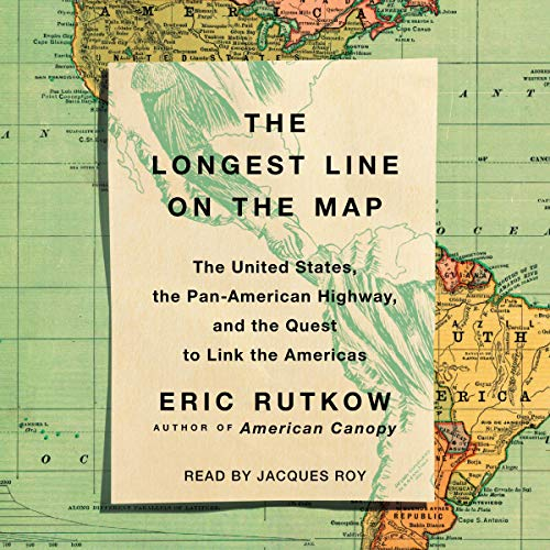 The Longest Line on the Map audiobook cover art