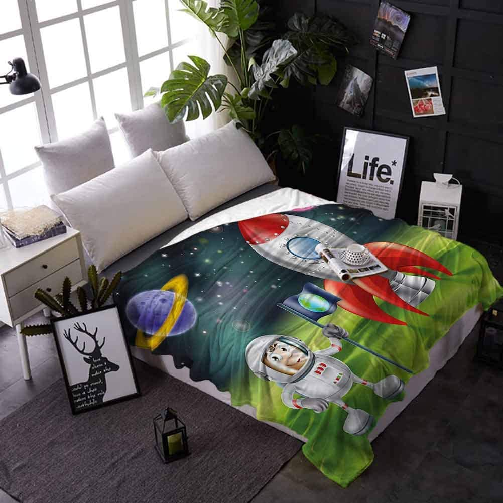 shirlyhome Bed Blanket Boys Room Tucson Mall R New Orleans Mall Throw Lightweight Anti-Static