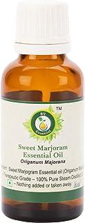 ピュアスウィートマジョラムエッセンシャルオイル100ml (3.38oz)- Origanum Majorana (100%純粋&天然スチームDistilled) Pure Sweet Marjoram Essential Oil
