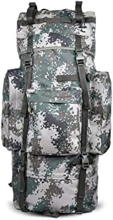 ACSH Tactical Backpack, Male Outdoor Travel Bag, Large Capacity Waterproof Hiking Camping Bag, Camouflage (Color : Camouflage Color)