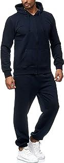 Surv/êtement pour Hommes Combinaison de Sport Basic Fitness Suit Pantalone