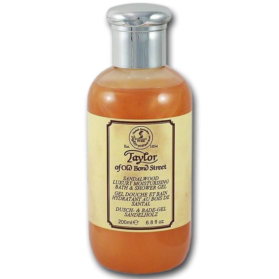 頭道徳だますTaylor of Old Bond Street Sandalwood Bath & Shower Gel (200 ml) by Taylor of Old Bond Street