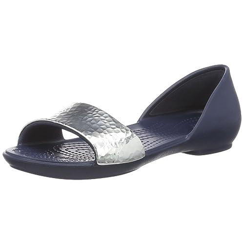 591b829f9092f5 Crocs Women s Lina Embellished Dorsay Ballet Flat