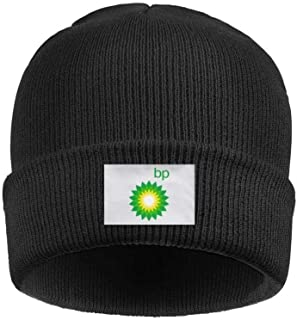 aknhdhdg Headwear for Mens Womens Chunky BP-Logo- Solid Color Beanies