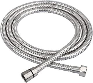 HOMEIDEAS 79-Inch Shower Hose SUS 304 Stainless Steel Extra Long Shower Hose Replacement Handheld Shower Head Hose Extension