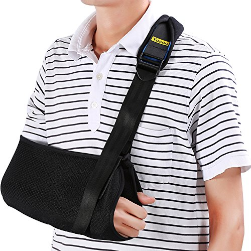 Yosoo Arm Sling - Dislocated Shoulder Sling for Broken Arm Immobilizer Wrist Elbow Support -...