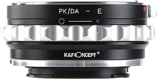 K&F Concept ペンタックスK/DAシソニー NEX Eマウント ボディアダプター PK/DA-E