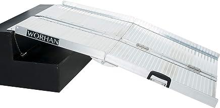 Worhan R4 - Rampa plegable para maleta, silla de ruedas o patinete, aluminio,