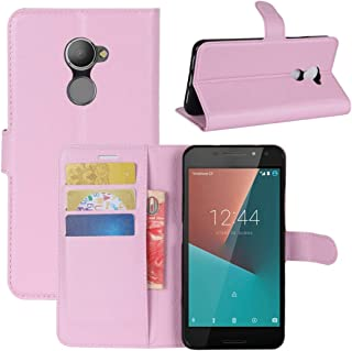 JIANGNIAE Phone Case For Vodafone Smart N8 Litchi Texture Horizontal Flip Leather Case with Wallet & Holder & Card Slots (...
