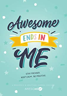 Resilient ME Gratitude Journal for Kids: Awesome Ends In Me