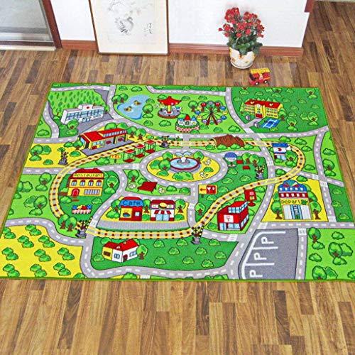 Best Price Kids Play Mat,Baby Crawling Mat Carpet Toddlers Game Mat Soft Machine Washable Rug Playgr...