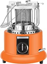Binn Radiateur Chauffage 2 en 1 Portable Chauffage Chauffage Chauffage Chauffe-Patio for Usage extérieur Camp Garage Tente...