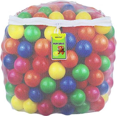 Toy plastic balls