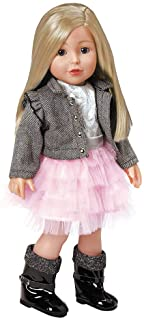 """Adora Amazing Girls 18 Inch Doll, """"Harper"""" (Amazon Exclusive) Compatible With Most 18 Inch Doll Accessories And Clothing"""