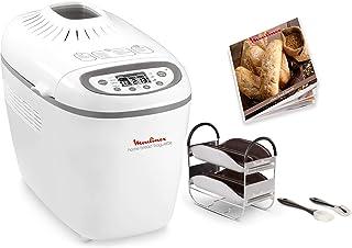 Moulinex OW6101 Home Baguette - Panificadora de 1650 W, 16 programas, sin gluten, hasta 1.5 kg, inicio programado, manteni...