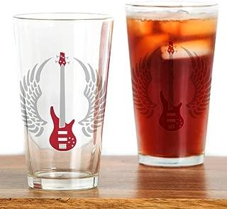 CafePress Bass Guitar 07-2011 A 2C Pint Glass, 16 oz. Drinking Glass