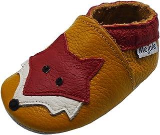 Mejale schlüpfen Chaussons en Cuir Doux Chaussures bébé Mokassin