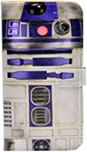 cyd_amsy iPhone 7 Plus Case - R2D2 Droid Robot Pattern PU Leather Wallet Case Stand Cover with Cash Card Slots for Apple iPhone 7 Plus,iPhone 8 Plus (2017) Cool as Great Gift