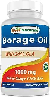 Best Naturals Borage Oil 1000 mg 90 Softgels