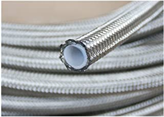 Diesel etc Rubber Reinforced Fuel Hose // PVC Braided Pipe for Petrol ⌀ 12mm 10m Water
