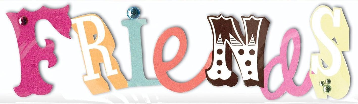 Me & My Big Ideas MAMBI Sticker Embellishment, Reese Friends wlgohzqmbxa763