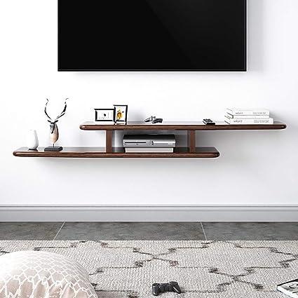 Estante Flotante Mueble de TV Moderno Minimalista montado en ...