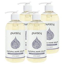 Puracy Natural, Moisturizing Natural Hand Wash