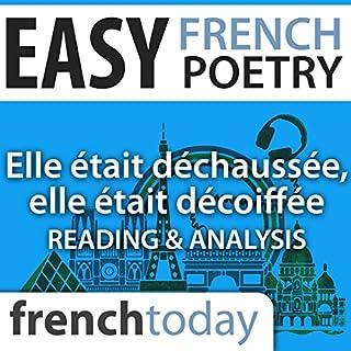 Elle était déchaussée, elle était décoiffée (Easy French Poetry) audiobook cover art