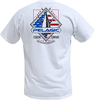 cadeb0dd46ed9 Pelagic Men s Patriot Tuna Tee Shirt