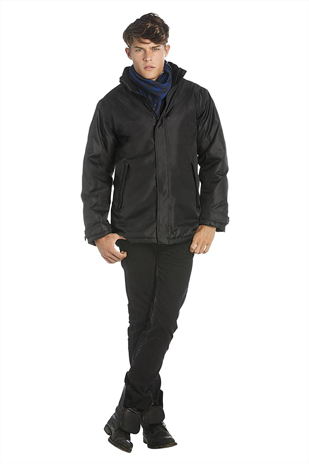 Men's Waterproof Parka Jacket by B and C Collection