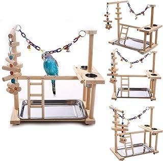 鳥遊び場 インコ ハムスター カゴ ケージ スタンド はしご 遊園地 秋千 食器 水器 ラダー ベル アクリル 噛む玩具 鳥の巣 鳥栖 組み合わせ 支え 棚