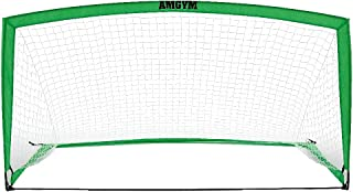 AMGYM Soccer Goal Portable Sports Soccer Nets for...