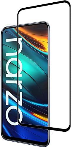Full Screen Coverage Edge to Edge Tempered Glass for Realme Narzo 20 Pro Realme Narzo 20 Pro Edge to Edge 11D 6D Temper Glass By CanDeal Mart
