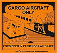 Labelmaster SL20R Cargo Aircraft Only Label PVC-Free Film (Pack of 500) [並行輸入品]