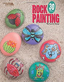 Rock Painting: 30 Rock Projects-Whimsical Designs-Bugs, Critters, Monsters and More!