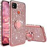 Compatibile con Cover Xiaomi Redmi 9C, Glitter Lusso Strass Diamante Bling Diamanti Custod...