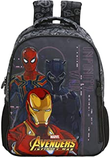 Mochila Escolar Avengers First Strike Grande, Xeryus, 7472, Multicor