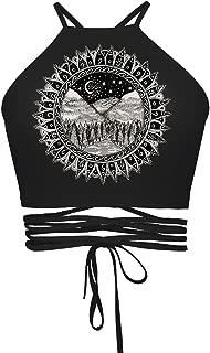 Women's Teens Girls Juniors Halter Sexy Vest Crop Top Shirt