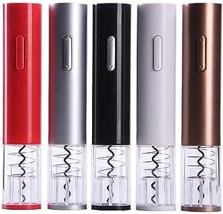 GKXAZ Electric wine corkscrew portable automatic aluminum foil paper cutter electric wine corkscrew (Color : Gold)