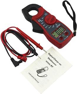comprar comparacion UEETEK Pinza Amperimétrica Multímetro digital Amper amperimétrica Corriente Pinza Probador de voltaje de corriente CA/CC M...